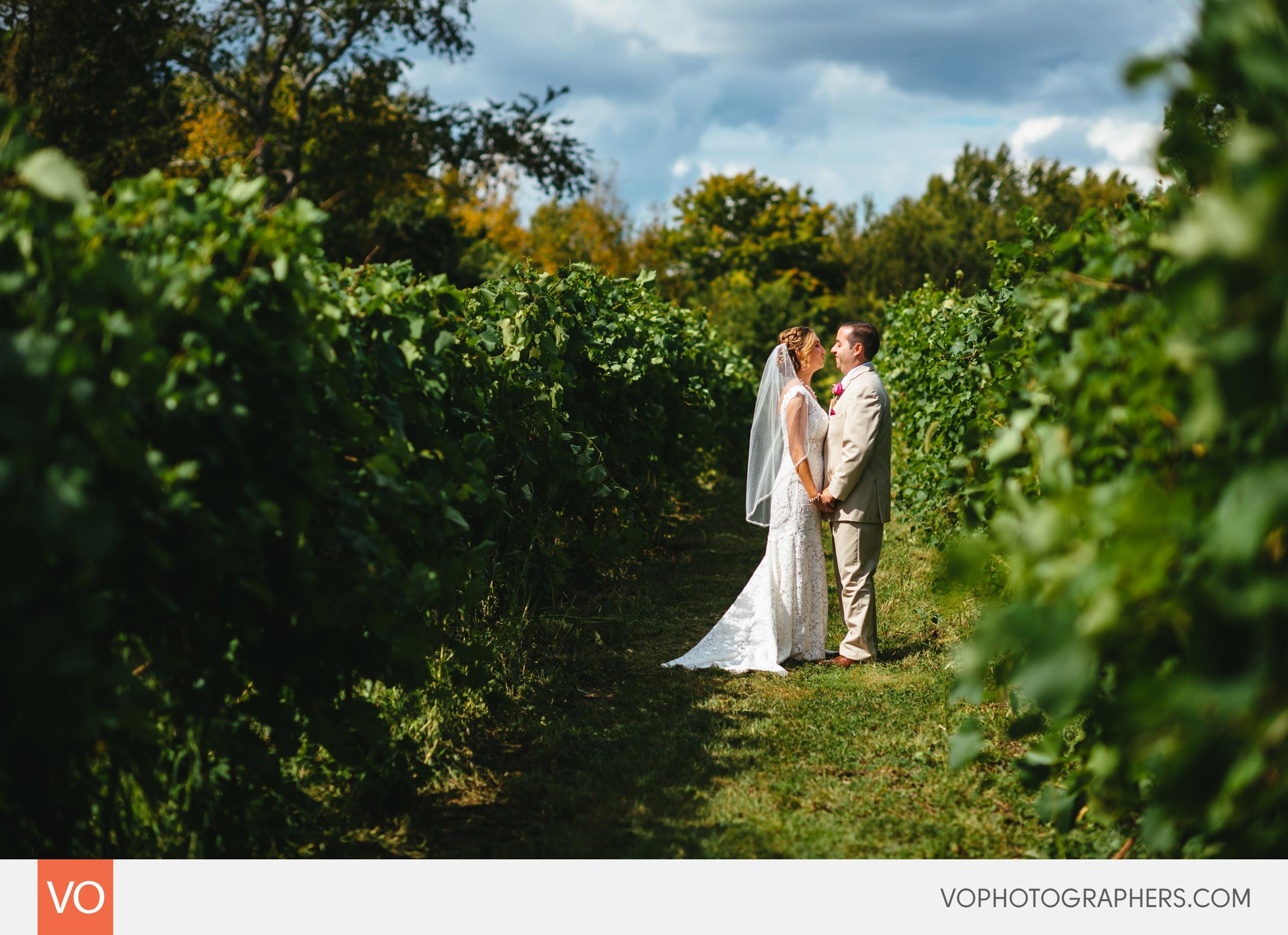 Preston Ridge Vineyard Outdoor Summer Wedding CT